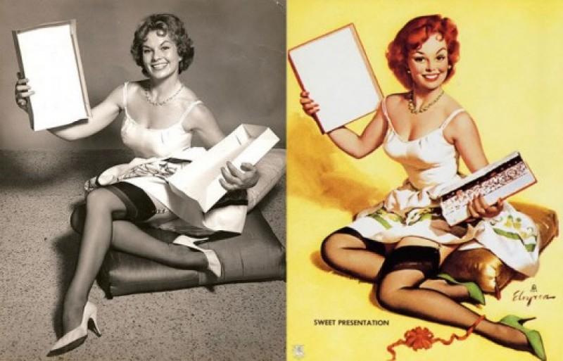Photoshop sem computador nos anos 1950 13