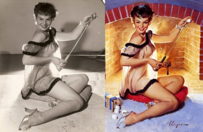 Photoshop sem computador nos anos 1950 18