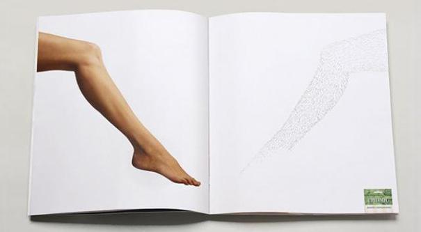 21 criativas publicidades com páginas duplas 09