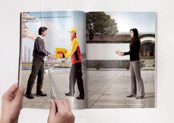 21 criativas publicidades com páginas duplas 11