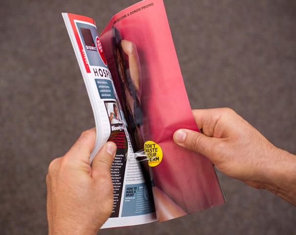 21 criativas publicidades com páginas duplas 13