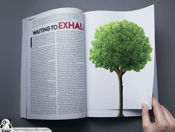 21 criativas publicidades com páginas duplas 15