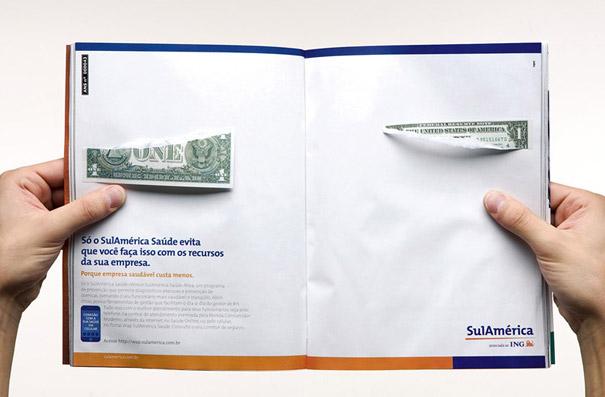 21 criativas publicidades com páginas duplas 18
