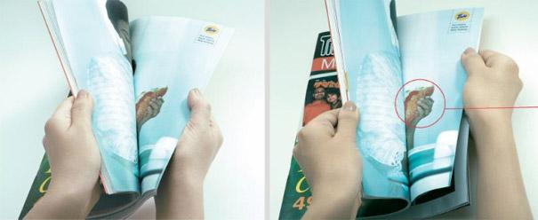 21 criativas publicidades com páginas duplas 28