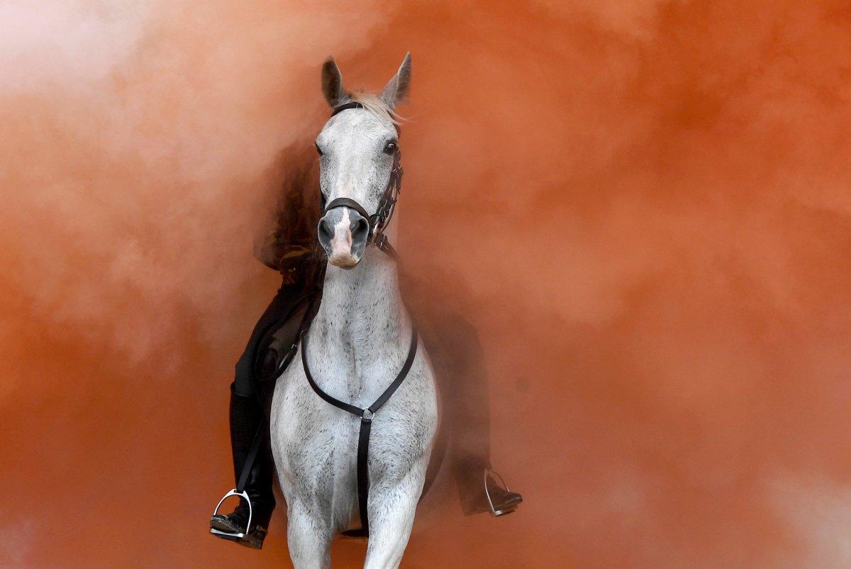 O ano em fotos impressionantes registradas pela premiada equipe de fotografia da Reuters em 2017 41