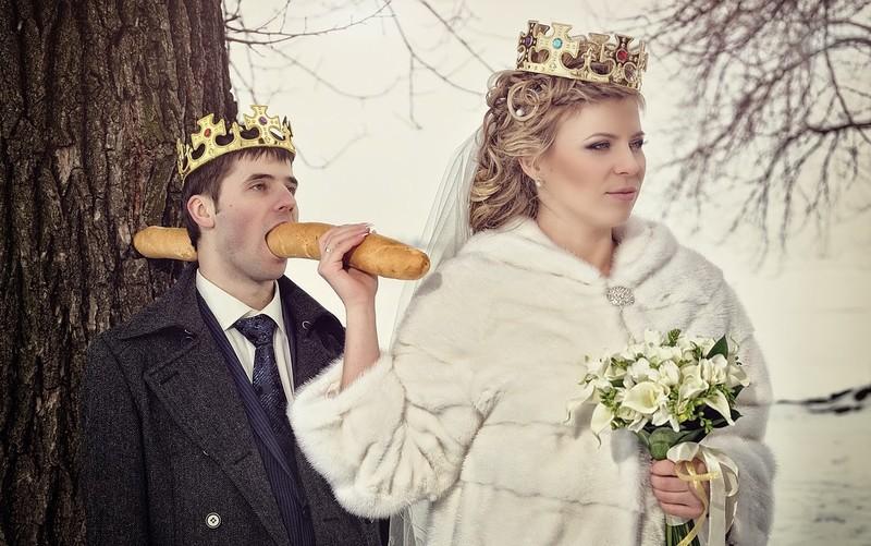 Hilariantes fotos de álbuns de casamentos russos 07