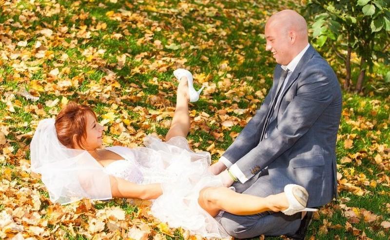 Hilariantes fotos de álbuns de casamentos russos 10