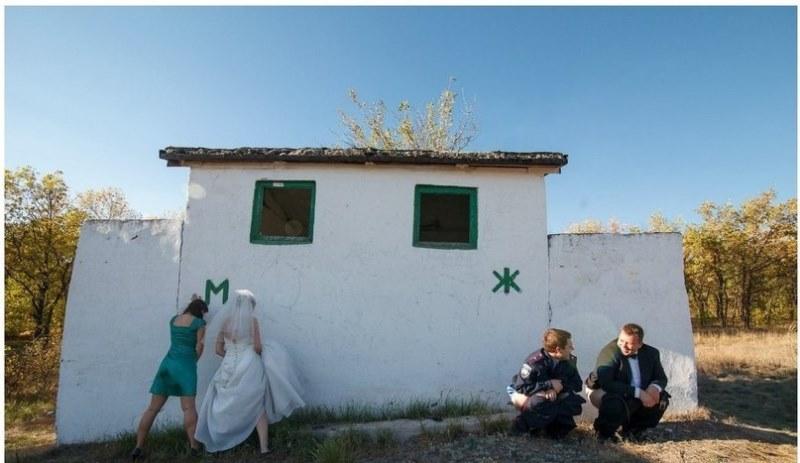 Hilariantes fotos de álbuns de casamentos russos 28