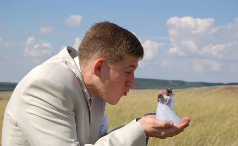 Hilariantes fotos de álbuns de casamentos russos 46