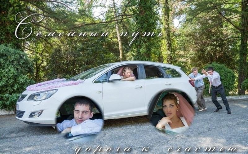 Hilariantes fotos de álbuns de casamentos russos 54