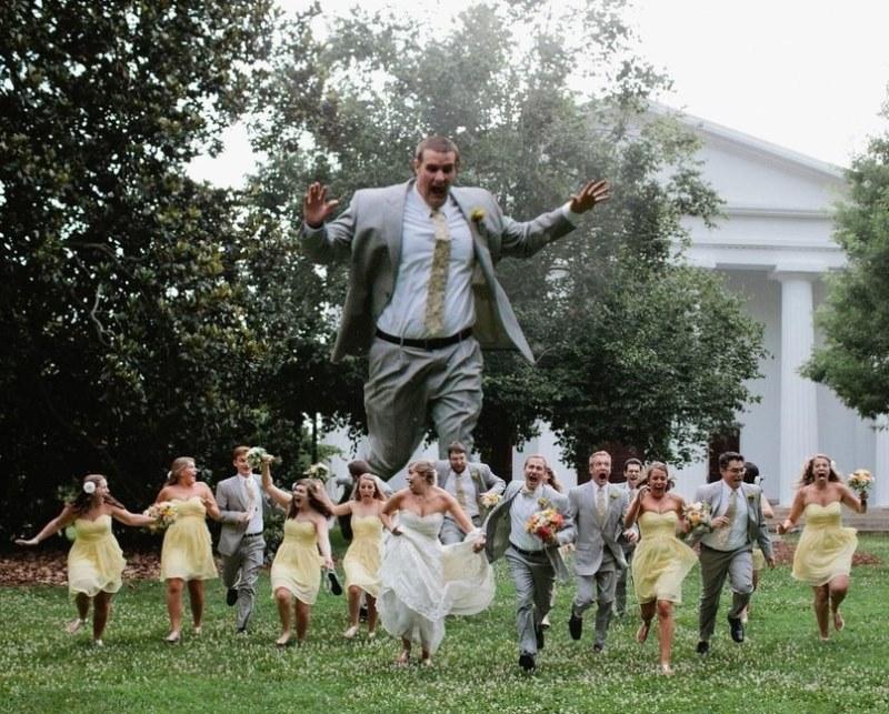 Hilariantes fotos de álbuns de casamentos russos 58