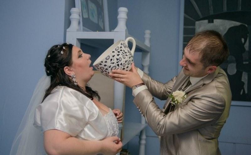 Hilariantes fotos de �lbuns de casamentos russos 62