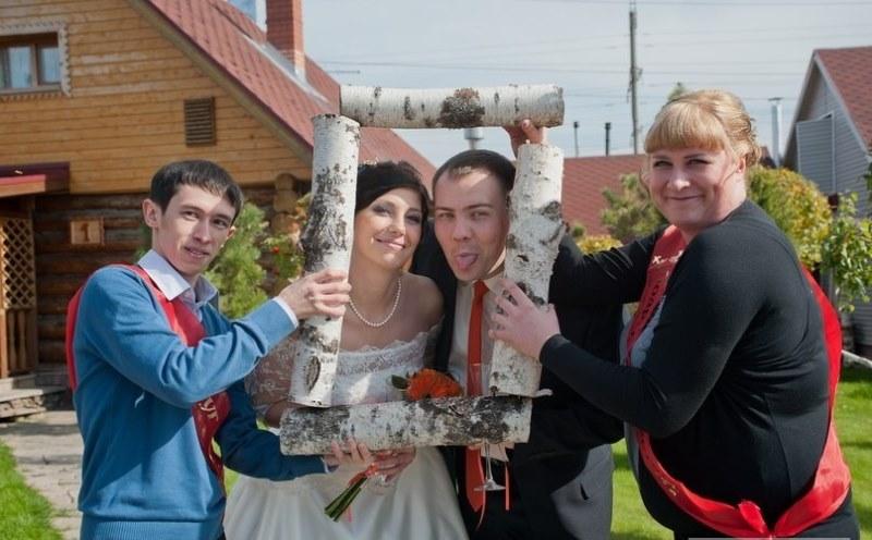 Hilariantes fotos de álbuns de casamentos russos 64