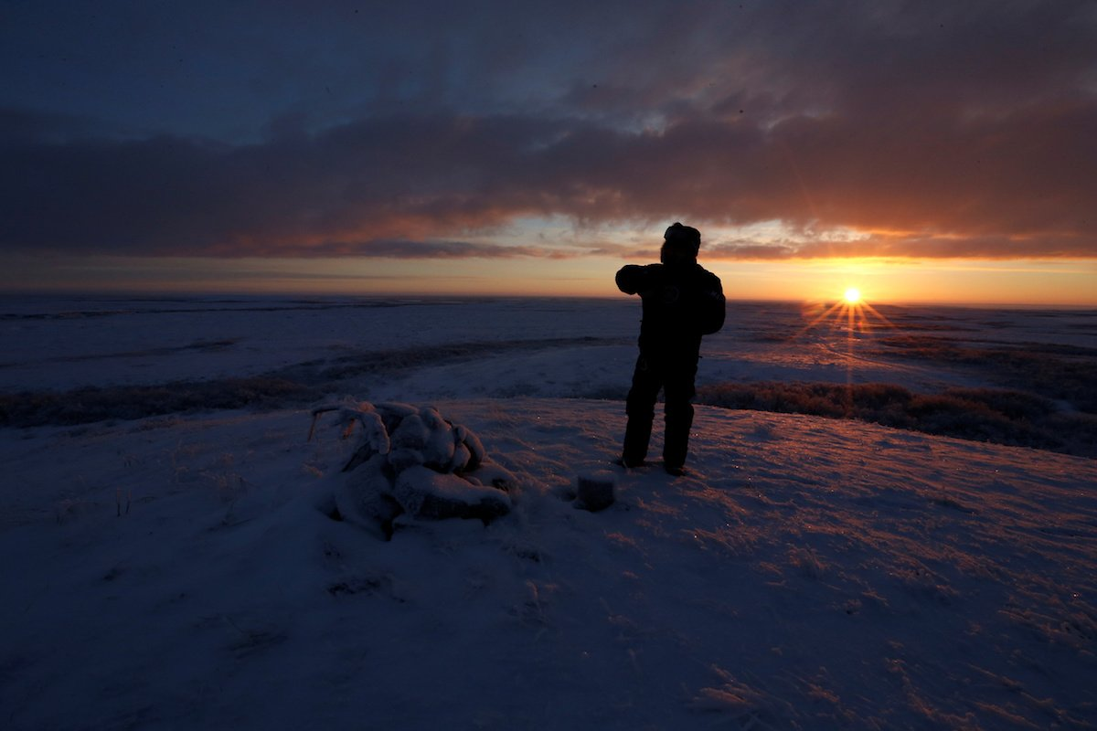 Como é trabalhar na pecuária de renas no ártico, Rússia 16
