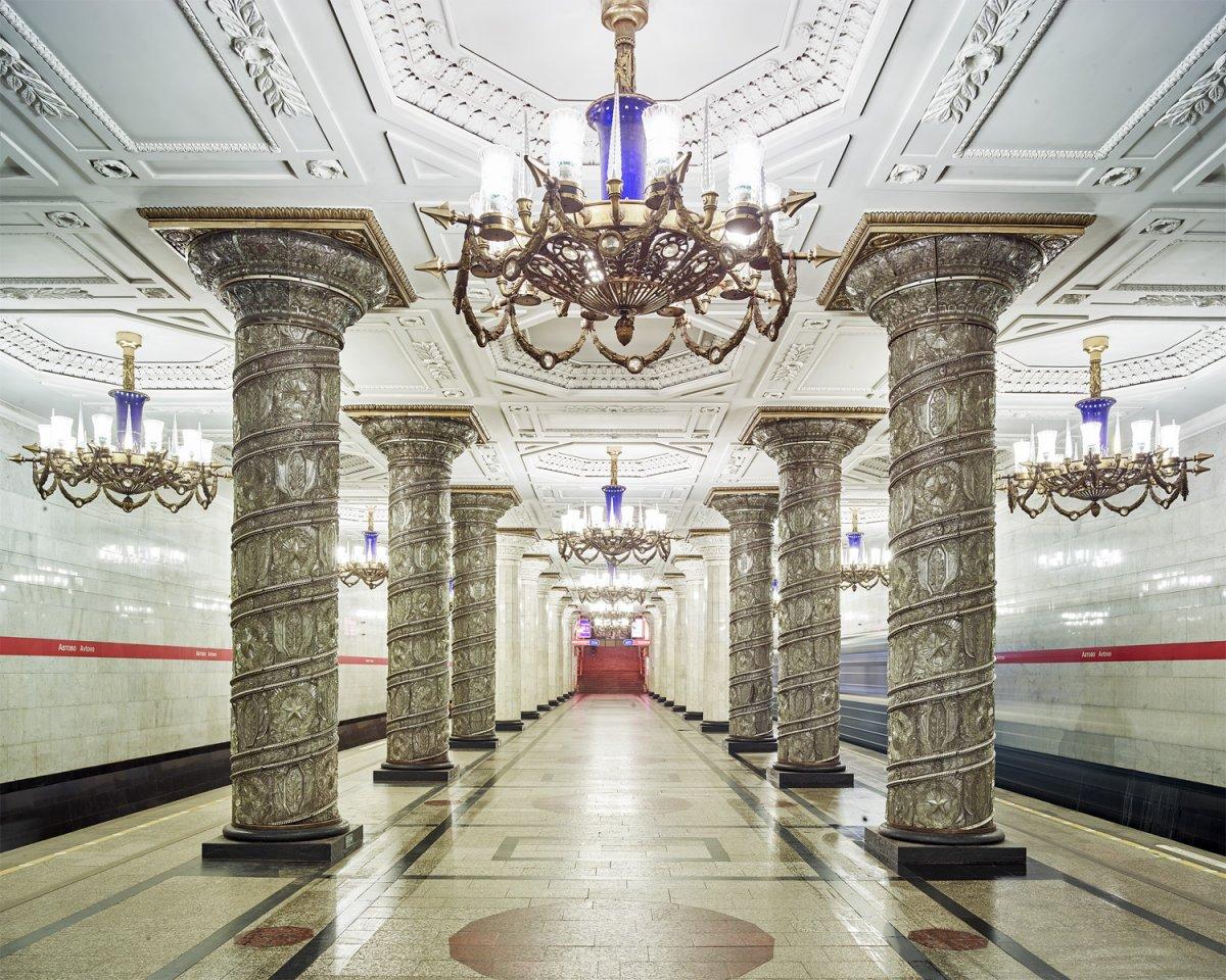 16 fotos de belas esta��es de metro de Moscou, constru�das como propaganda durante a �poca de Stalin 10
