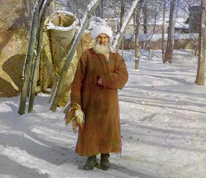 Imagens coloridas da Rússia de100 anos atrás