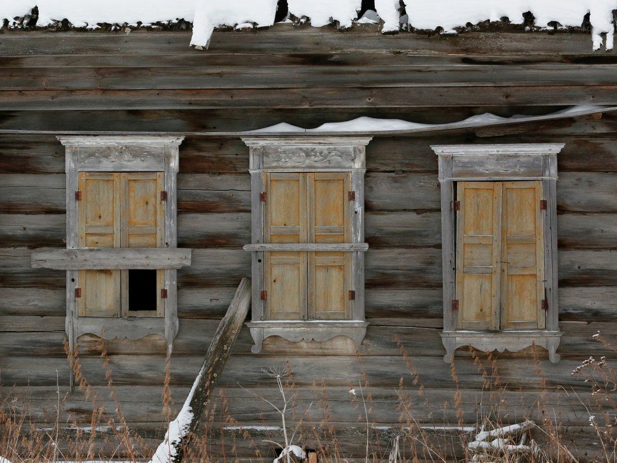 Mikhail Baburin é o último residente de Mikhailovka na Sibéria 02