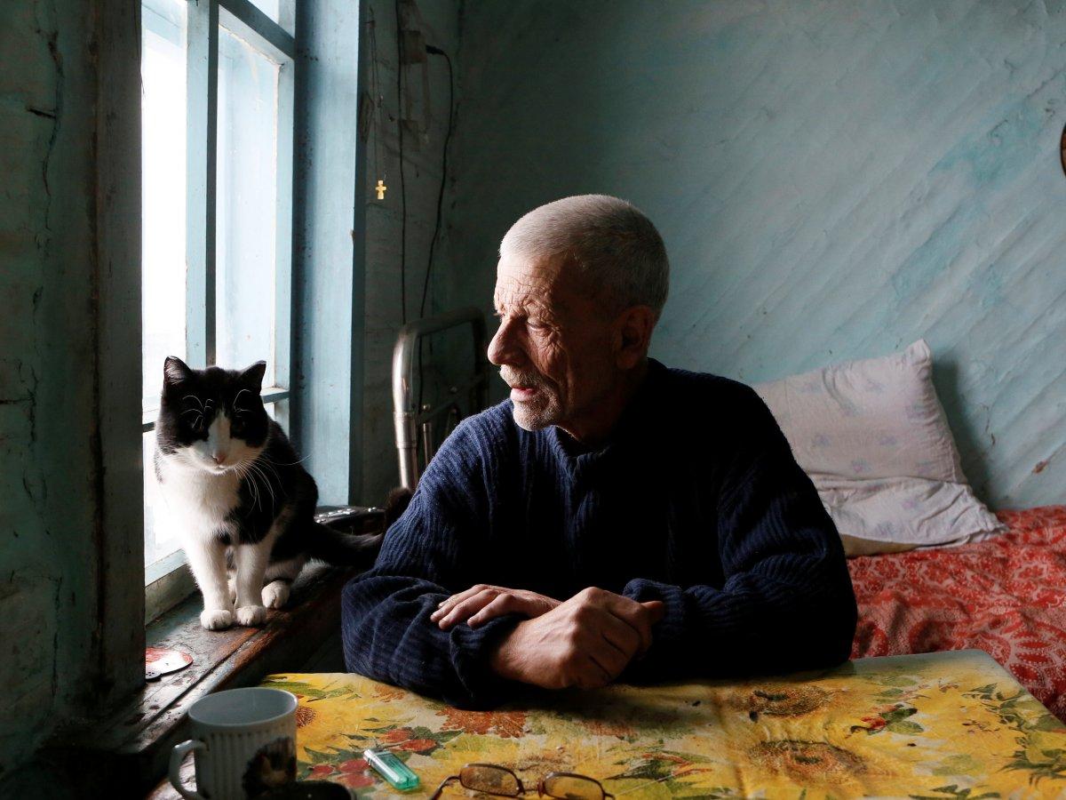 Mikhail Baburin é o último residente de Mikhailovka na Sibéria 09