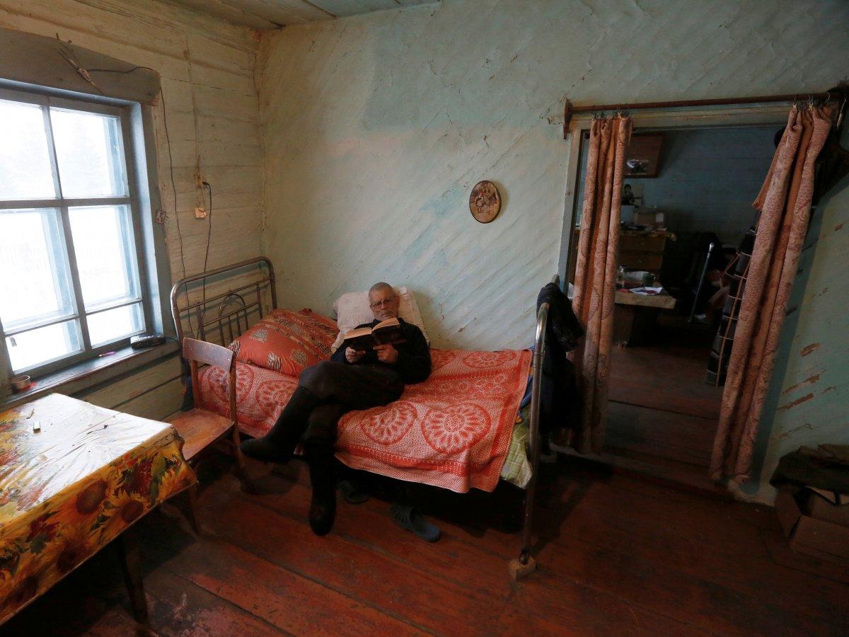 Mikhail Baburin é o último residente de Mikhailovka na Sibéria 10