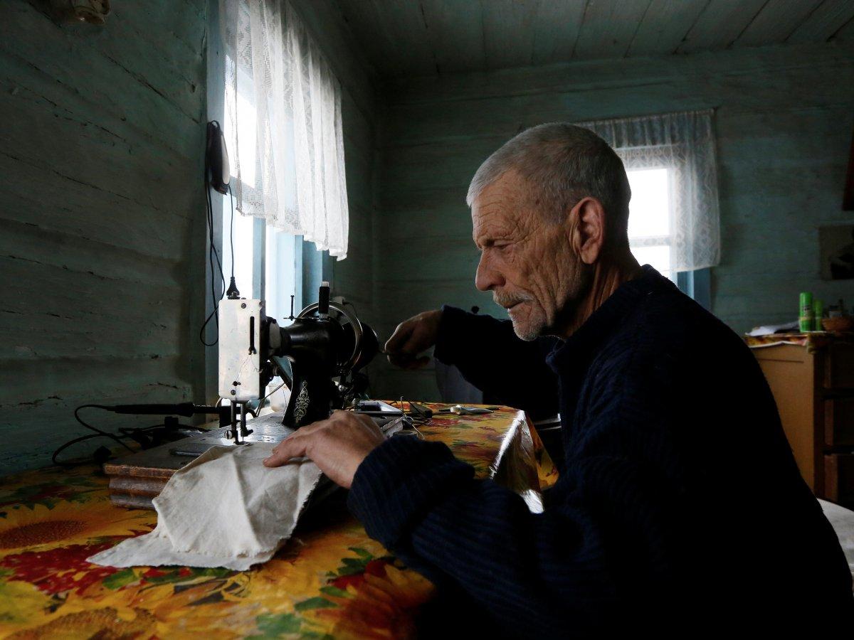 Mikhail Baburin é o último residente de Mikhailovka na Sibéria 11