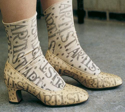 Calçados estranhos