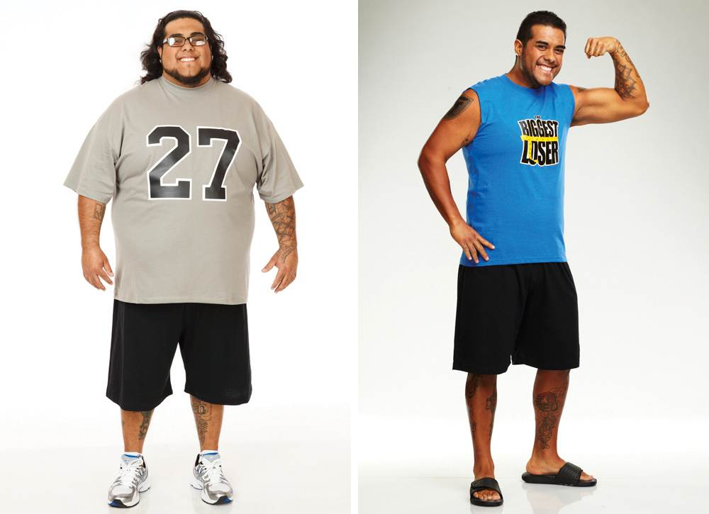 The Biggest Loser, antes e depois - 2011
