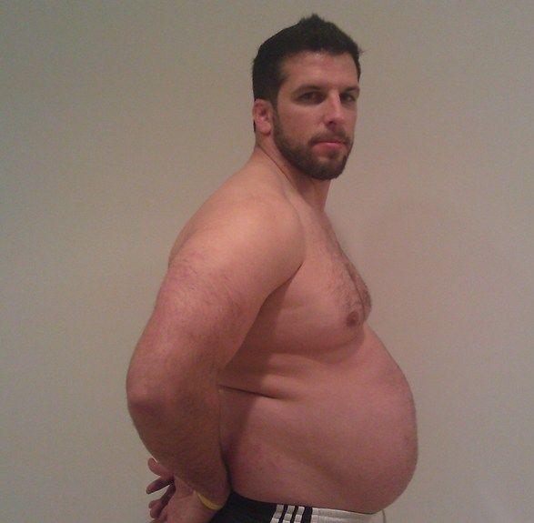 Personal Trainer volta ao peso normal após experimentar obesidade 04