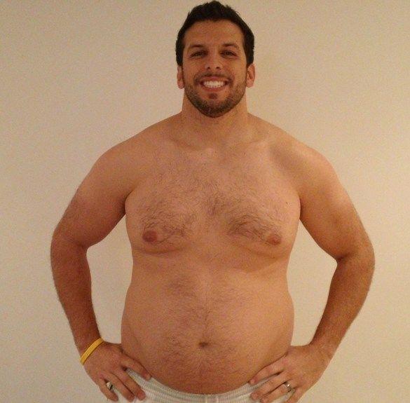 Personal Trainer volta ao peso normal após experimentar obesidade 05