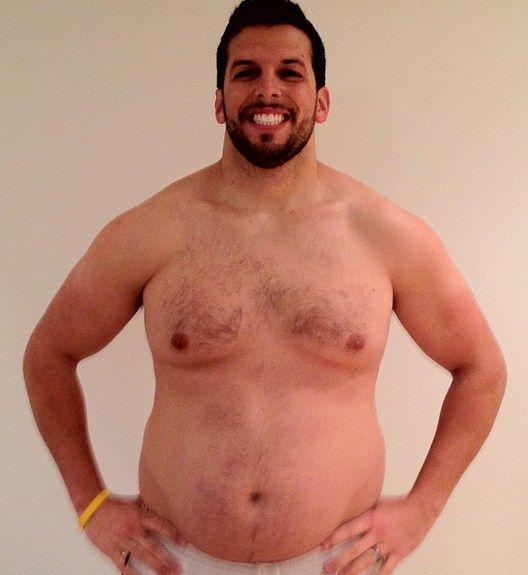 Personal Trainer volta ao peso normal após experimentar obesidade 07
