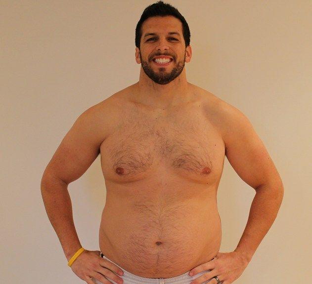 Personal Trainer volta ao peso normal após experimentar obesidade 09