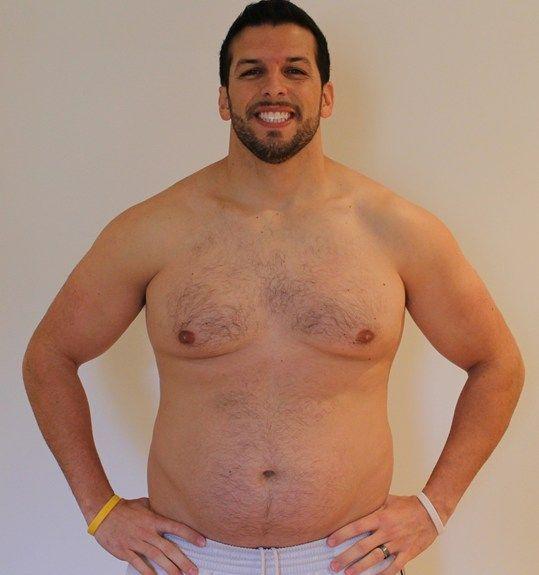 Personal Trainer volta ao peso normal após experimentar obesidade 11
