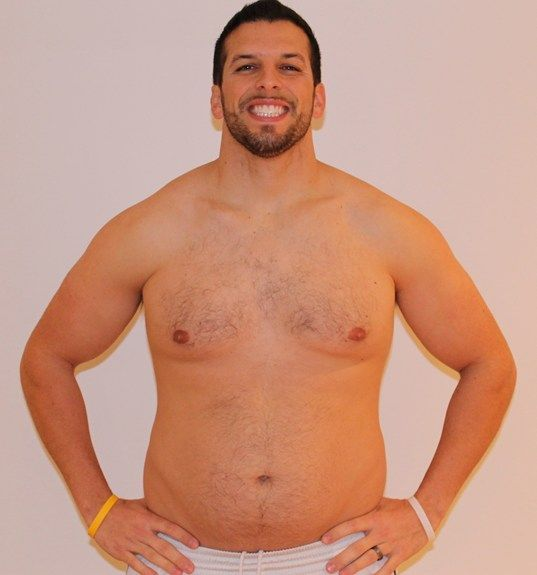 Personal Trainer volta ao peso normal após experimentar obesidade 13