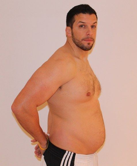 Personal Trainer volta ao peso normal após experimentar obesidade 14