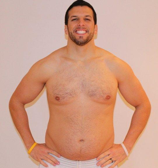 Personal Trainer volta ao peso normal após experimentar obesidade 15