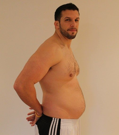 Personal Trainer volta ao peso normal após experimentar obesidade 18