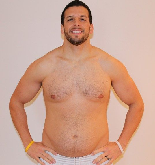 Personal Trainer volta ao peso normal após experimentar obesidade 19