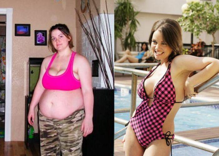 Antes e depois de incríveis transformações físicas 2 01