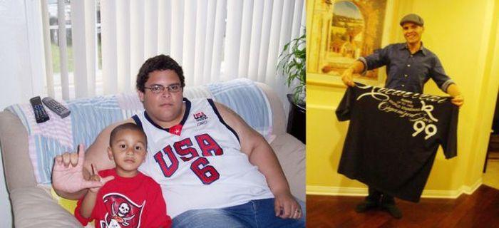 Antes e depois de incríveis transformações físicas 2 02