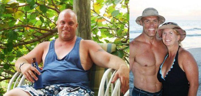 Antes e depois de incríveis transformações físicas 2 03