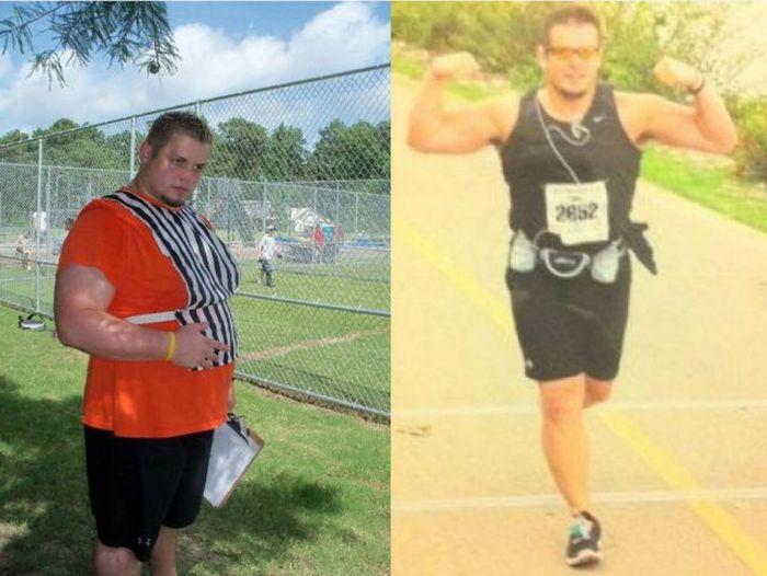 Antes e depois de incríveis transformações físicas 2 05