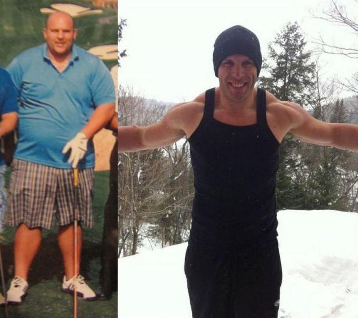 Antes e depois de incríveis transformações físicas 2 07