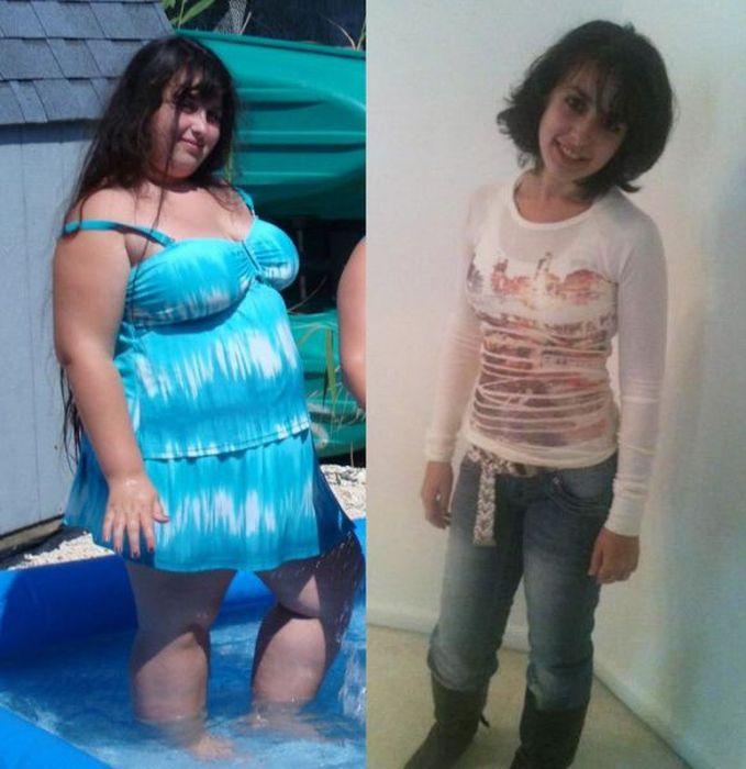 Antes e depois de incríveis transformações físicas 2 08