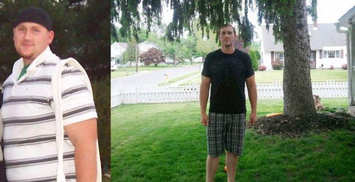 Antes e depois de incríveis transformações físicas 2 09