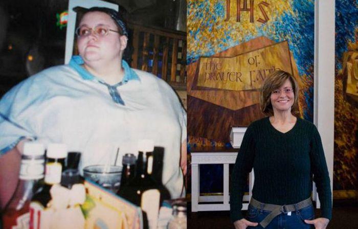 Antes e depois de incríveis transformações físicas 2 11