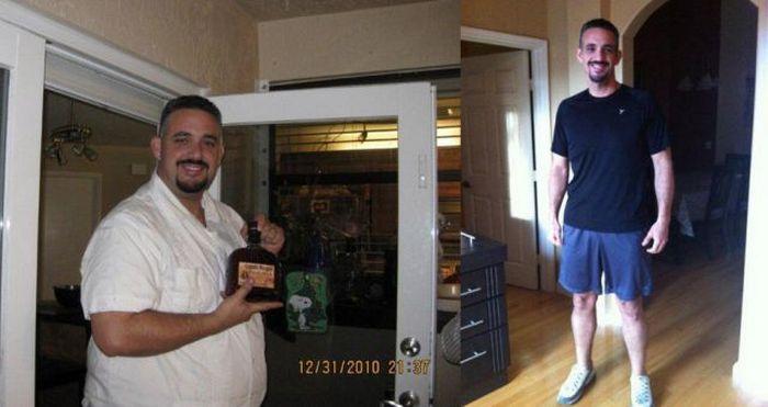 Antes e depois de incríveis transformações físicas 2 12