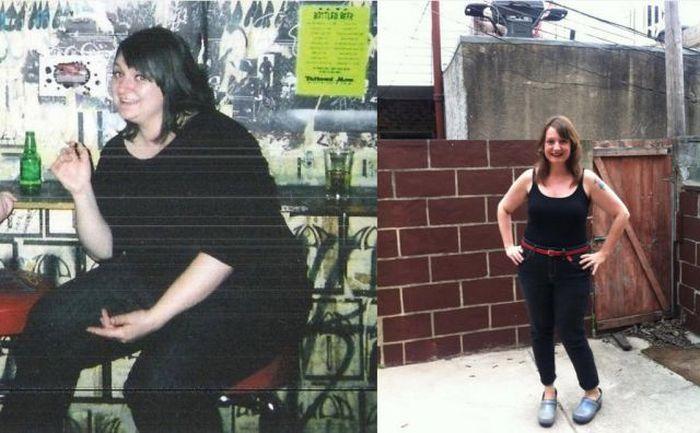 Antes e depois de incríveis transformações físicas 2 15