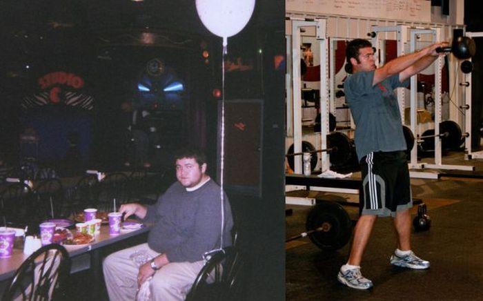 Antes e depois de incríveis transformações físicas 2 16