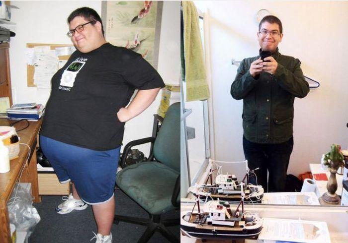 Antes e depois de incríveis transformações físicas 2 19
