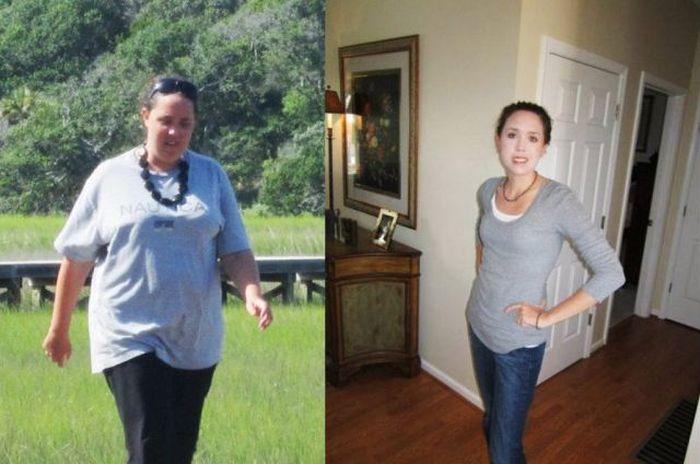 Antes e depois de incríveis transformações físicas 2 21