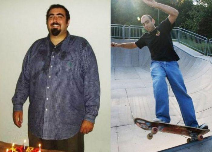 Antes e depois de incríveis transformações físicas 2 22